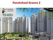 Panchsheel Greens 2 are best homeoffering