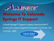 Colorado Springs IT Support