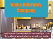 Home Warranty Company