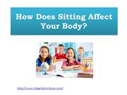 How Does Sitting Affect Your Body?