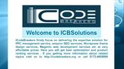 Logo design services company- ICBSolutions