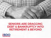 Seniors Dragging Debt and Bankruptcy into Retirement