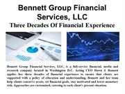 Bennett Group Financial Services, LLC – Three Decades Of Financial Exp