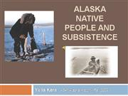 Fed Subsistence & AK Natives - 10.9MB