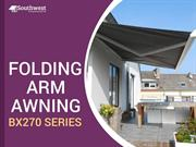 Folding Arm Awnings BX 270 Series