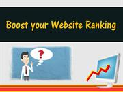 Boost your Website Ranking