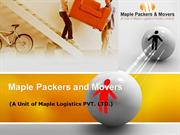 Packers and Movers Delhi, India | Maple Packers and Movers
