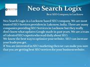 Best Web design and Development company in Lucknow