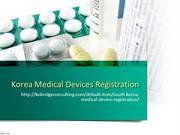 Korea Medical Device Registration