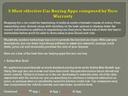 9 Most effective Car Buying Apps composed by Toco Warranty