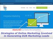 Strategies of Marketing Involved in Generating B2B Marketing Leads