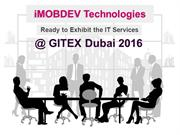 GITEX Technology Week 2016: Schedule a meeting with iMOBDEV Executives