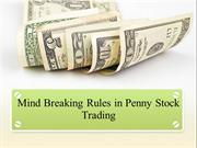 Mind Breaking Rules in Penny Stock Trading