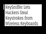 KeySniffer Lets Hackers Steal Keystrokes | CR Risk Advisory