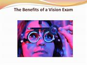 The Benefits of a Vision Exam