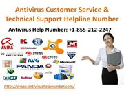 Antivirus Customer Service & Technical Support Helpline Number