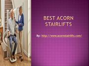 Buy Best Acorn Stairlifts
