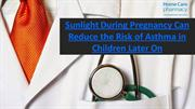Reduce Risk of Asthma in Baby by Getting Sunlight During Pregnancy