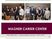 Magner Career Center Orientation Video