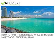 Mortgage Lenders in Miami