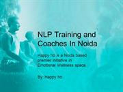 NLP Training and Coaches In Noida