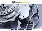 Police Arrest Records