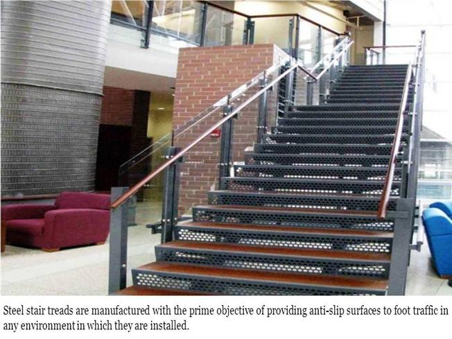 Stair Treads Manufacturers in UAE | Stainless Steel Stair