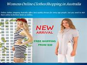 Womens Online Clothes Shopping in Australia