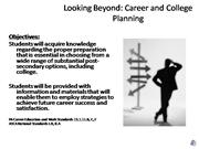 Looking Beyond Presentation Part 1 with