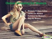 Online Shopping for Women