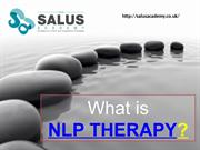 What is NLP therapy?