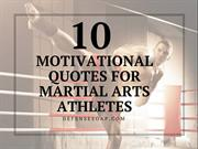 Top Motivational Quotes For MMA Athletes