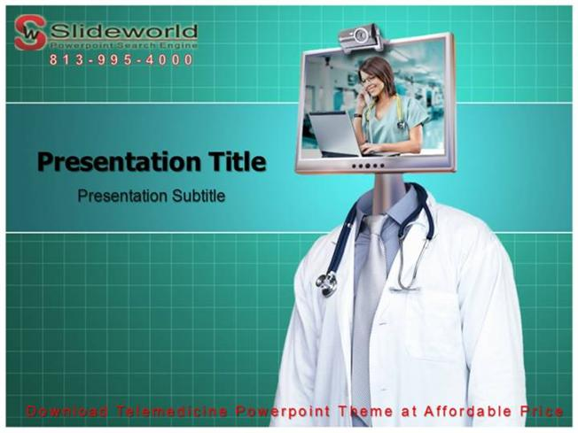 Download Telemedicine Powerpoint Theme at Affordable Price