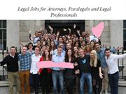Legal Jobs For Attorneys, Paralegals and Legal Professionals