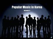 Korean Popular Music