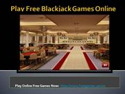 Play Free  Blackjack GamOnline - Free Games Casino