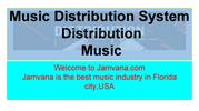 music distribution systemn  | streaming