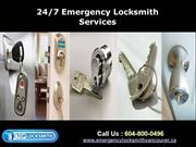 Vancouver 24 Hour Emergency Locksmith Service