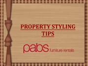 Property Styling Tips