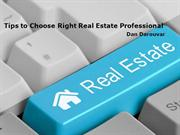 Tips to Choose Right Real Estate Professional