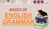 Basics of English Grammar