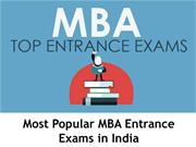 Most Popular MBA Entrance Exams in India