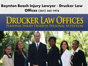 Boynton Beach Injury Lawyer