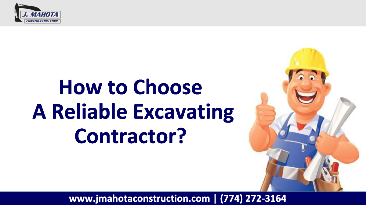 How to choose a reliable excavating contractor authorstream for How to find a reputable builder