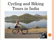 Cycling and Biking Tours in India