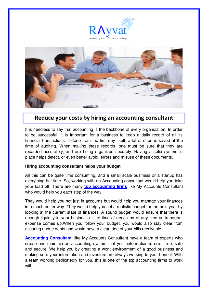 how to become an accounting consultant