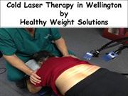 Cold Laser Therapy in Wellington - Healthy Weight Solutions