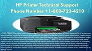 Phone Number +1-800-723-4210 HP Printer Technical Support  USA CANADA
