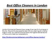 Best Office Cleaners in London
