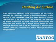 Uses of Heating Air Curtains in Different Fields